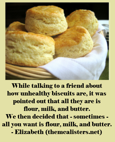 Biscuit quote